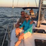 Sunset tour on Charleston harbor